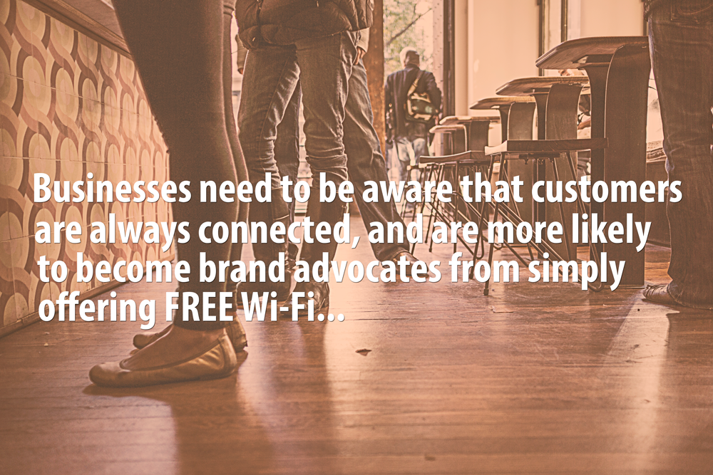 retail wifi, wireless network design,