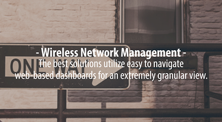 wireless network management, network management software, MDM,