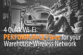 warehouse wireless network, quick warehouse wi-fi solutions, wireless network design,
