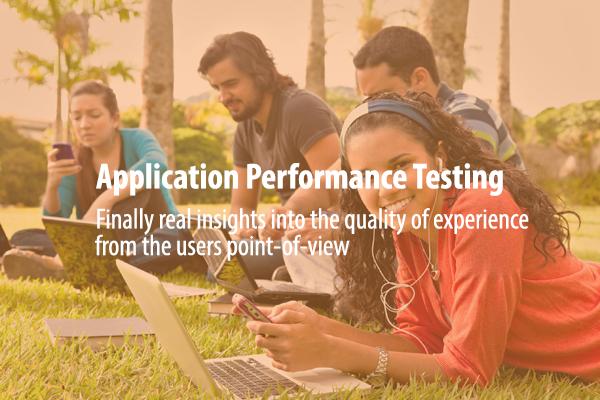 application performance testing, wifi performance, network performance test,