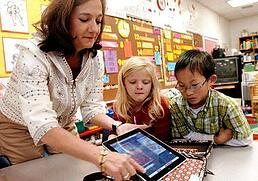 ipads in the classroom, school wireless networks, wifi companies,