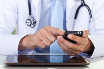 mobile devices on wireless hospitals, hospital wifi,
