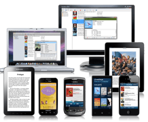 mobile devices on wireless network
