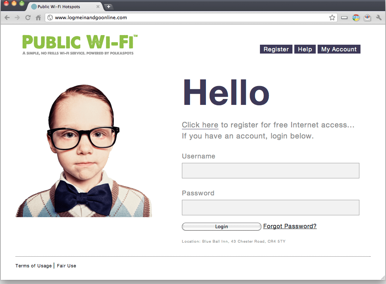 captive portal, wifi security, wireless network design,