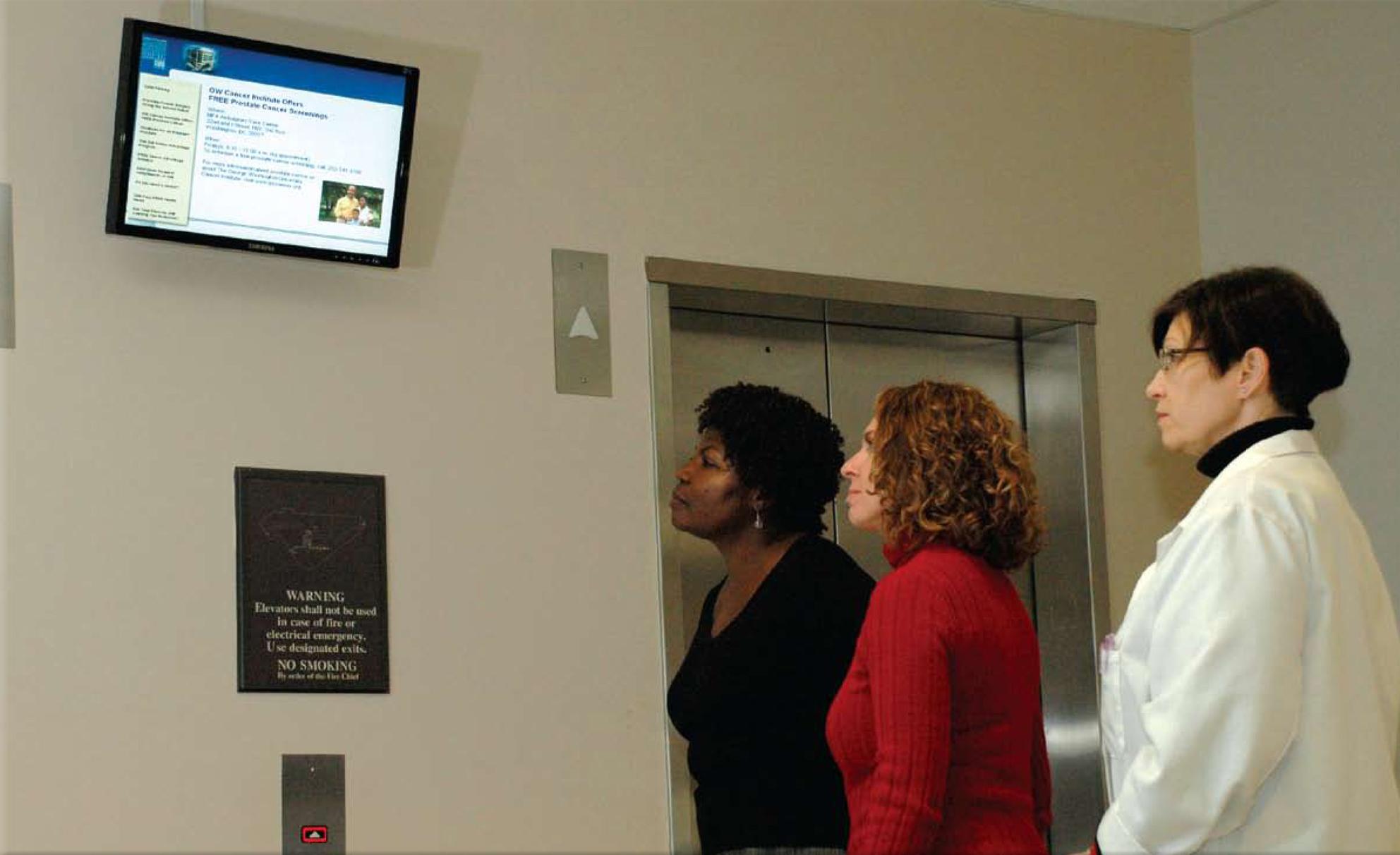 hospital digital signage