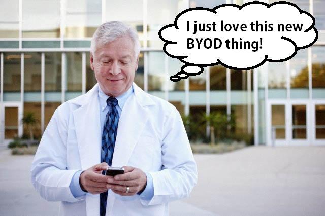 BYOD Trends on Hospital Wireless Networks