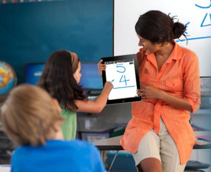 iPad technology in the classroom