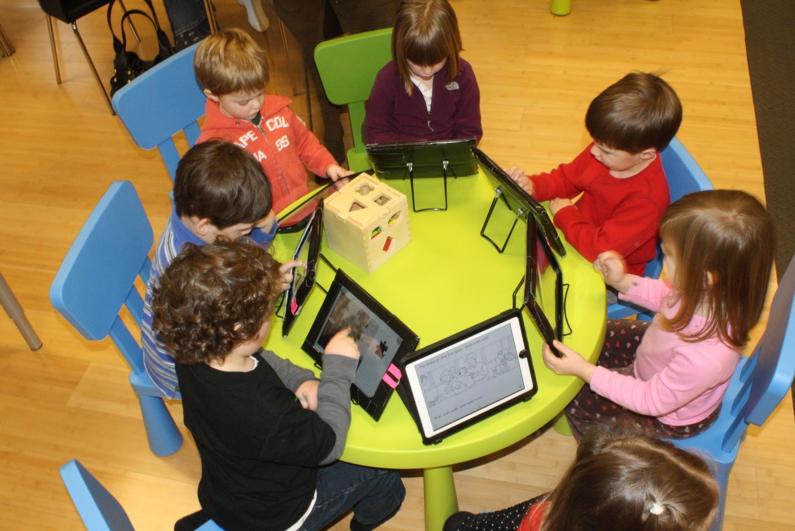 mobile devices in school wireless networks