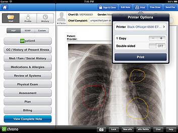 iPad x ray 2