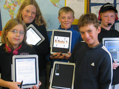 Learning Tablet In Schools, interactive learning tools, school wireless network design,