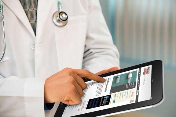 ipad on hospital wireless network