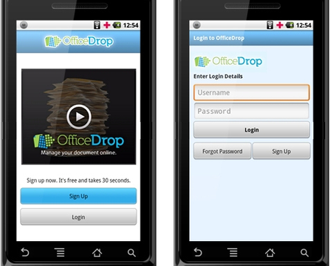 officedrop app for iphone
