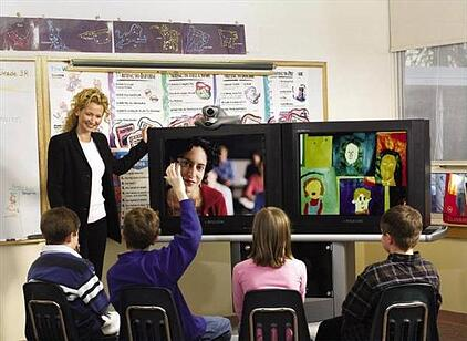 video conferencing classroom