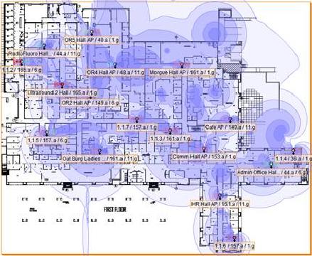 Wireless Lan Site Survey Capacity Vs Coverage