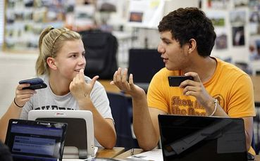 smartphones in the  classroom
