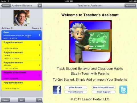 iPad apps in the classroom