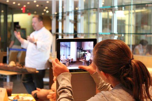 recording video with iPad