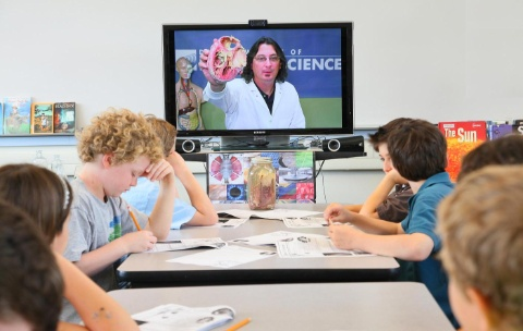video conferencing technology in the classroom, school wireless networks,