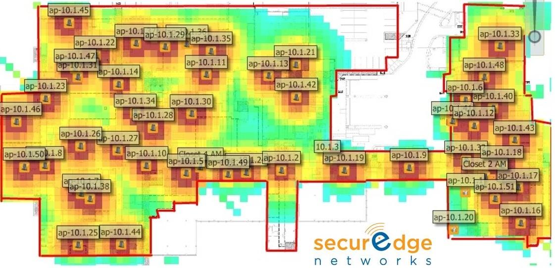BYOD wireless network security