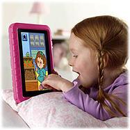 student on iPad mini