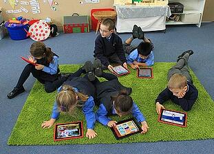 iPads in education, classroom technology,
