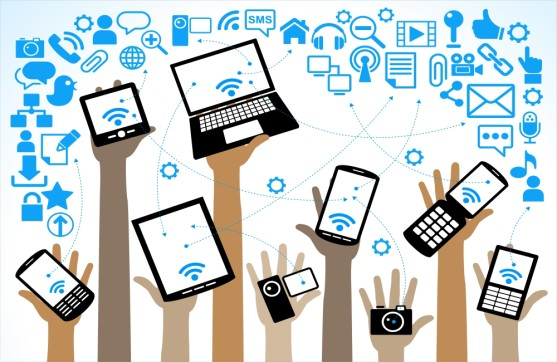 mobile devices on enterprise wireless network