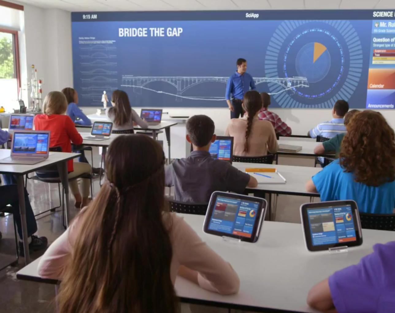 technology in the classroom, school wireless network design, byod vs 1:1,
