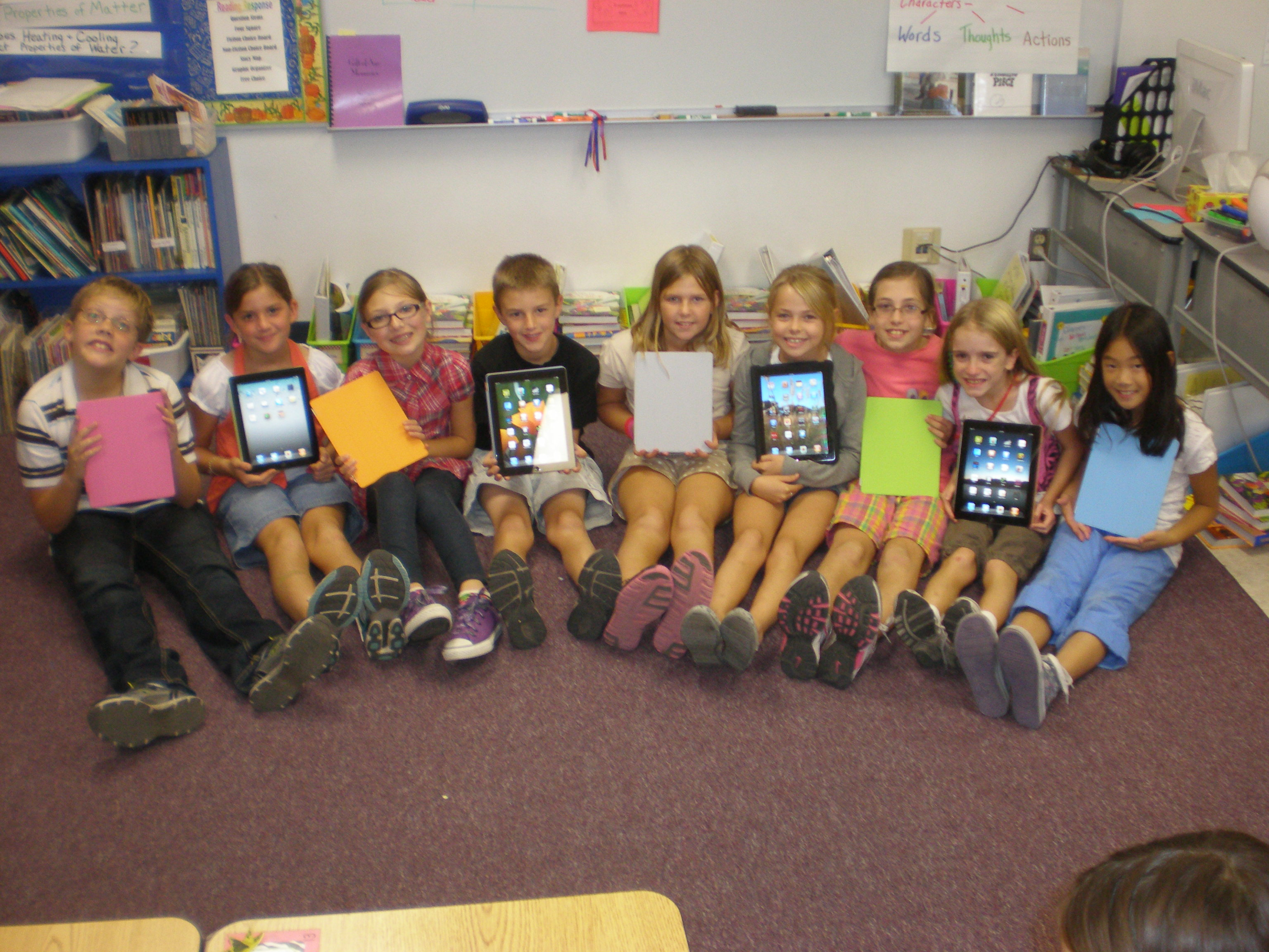 iPads in the classroom, wireless network design, wifi companies,
