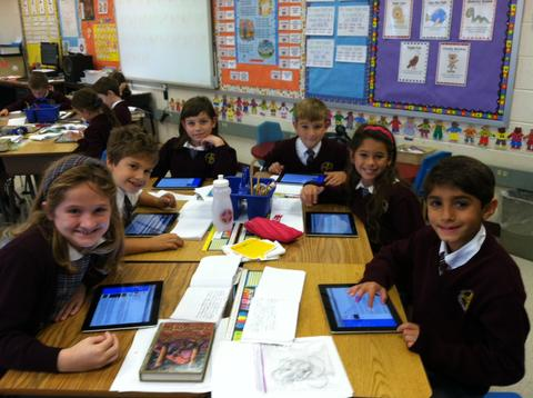 iPads in the Classroom Get Students Engaged