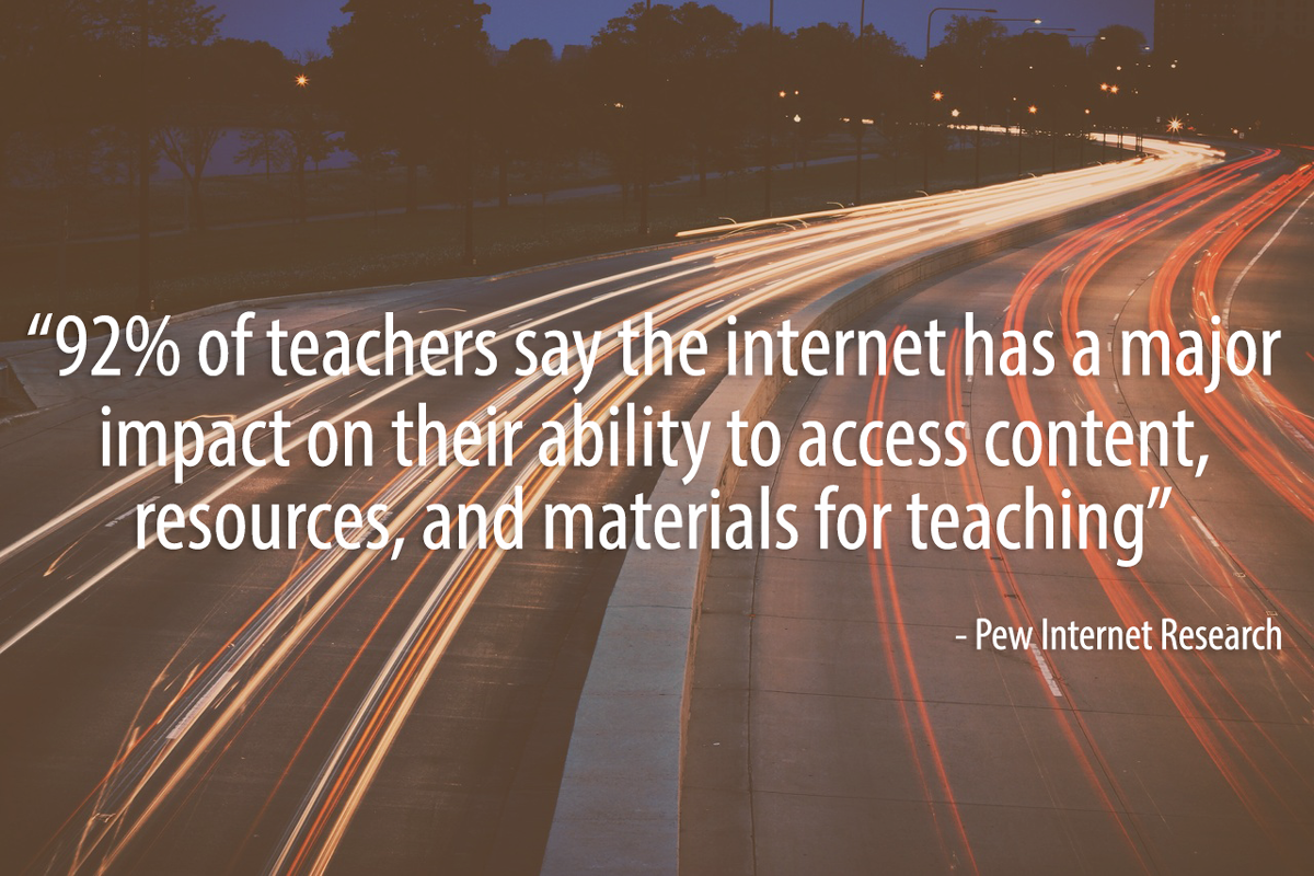 technology in the classroom, how to support bringing technology into schools,