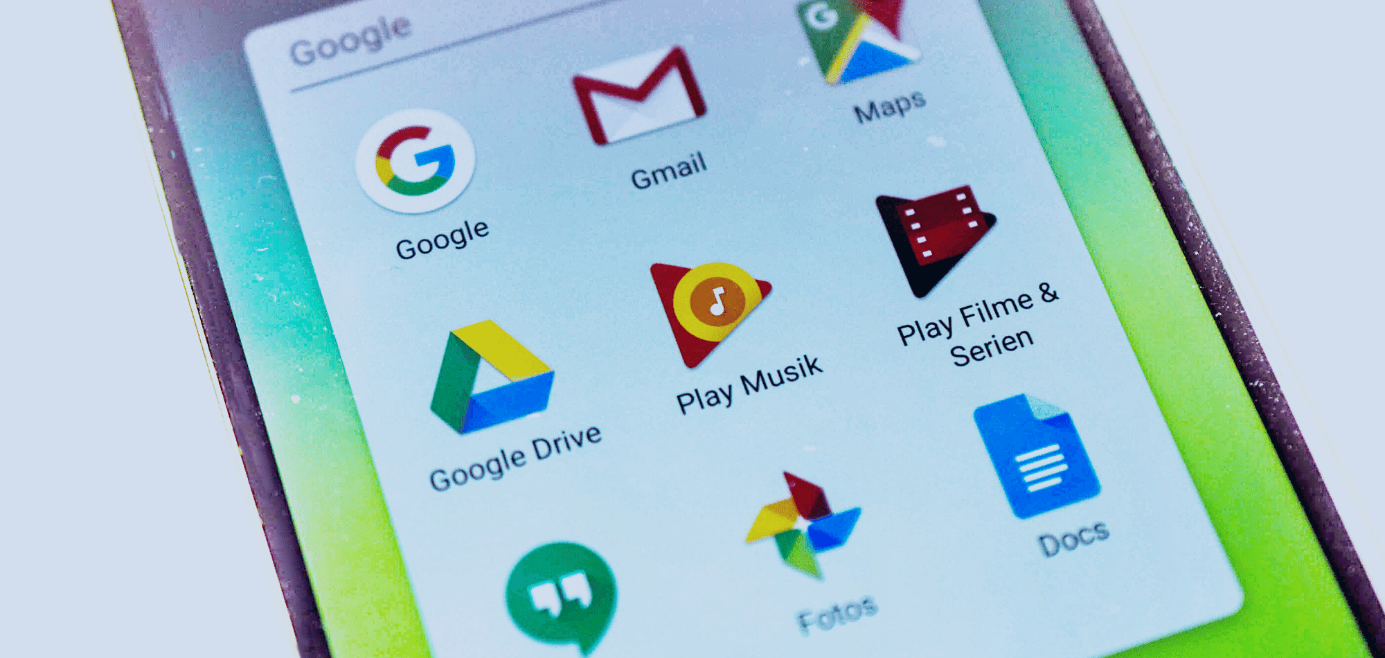 Google applications used in k12 schools