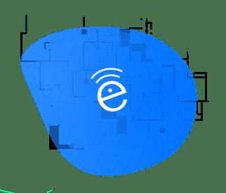 SecurEdge-Customer-Onboarding-form-image-blue-waves-with-E-logo-2