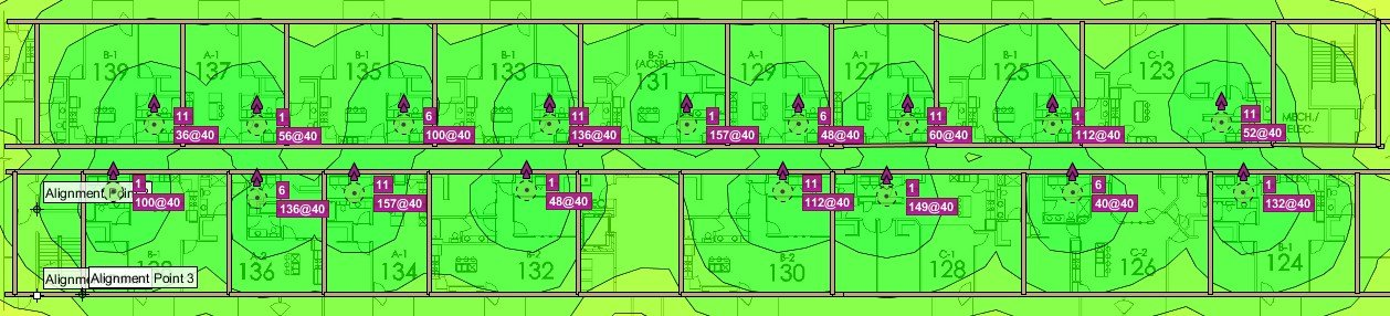 example of mdu wifi heat map