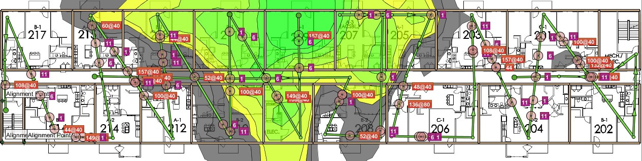 mdu complex wifi, wireless network design, campus wifi design,