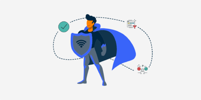 network-access-control-NAC-super-hero-controlling-access-to-business-wifi-networks