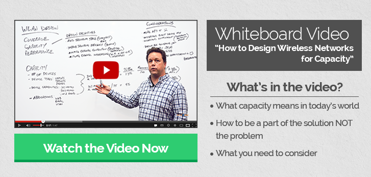Whiteboard Video - How to design wireless networks for capacity