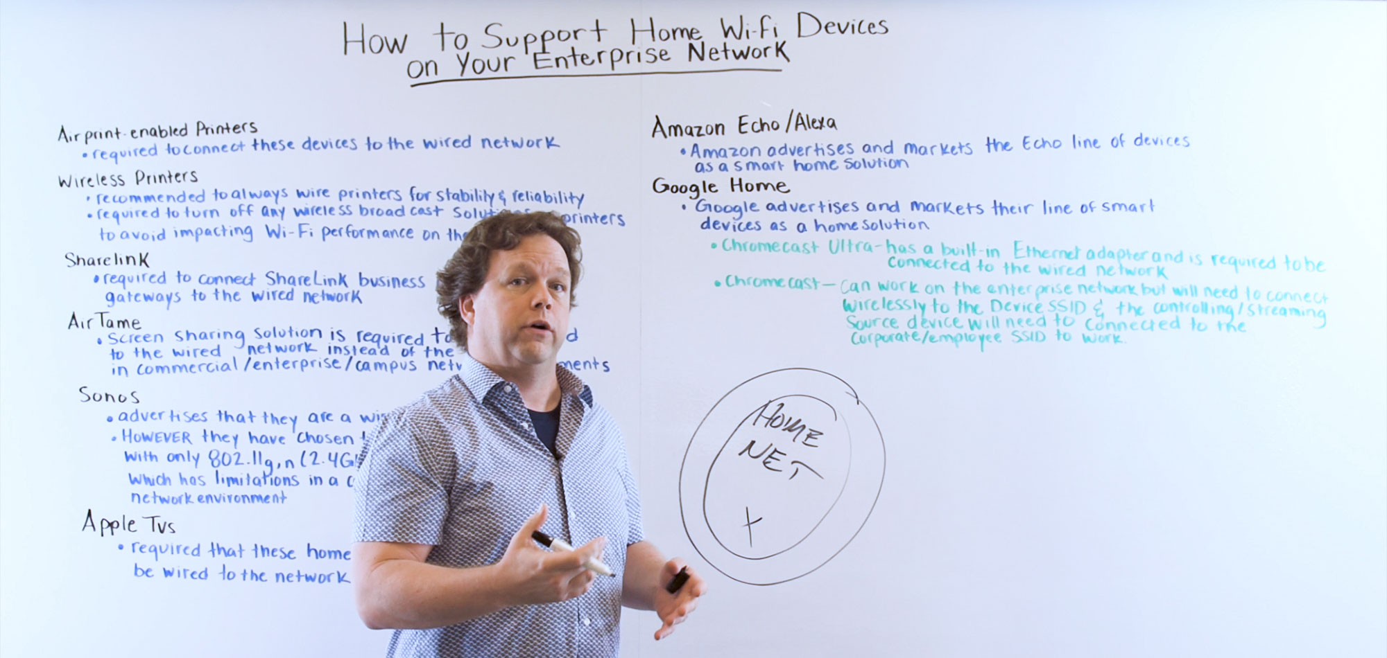 How to Support Home WiFi Devices on Your Enterprise Network