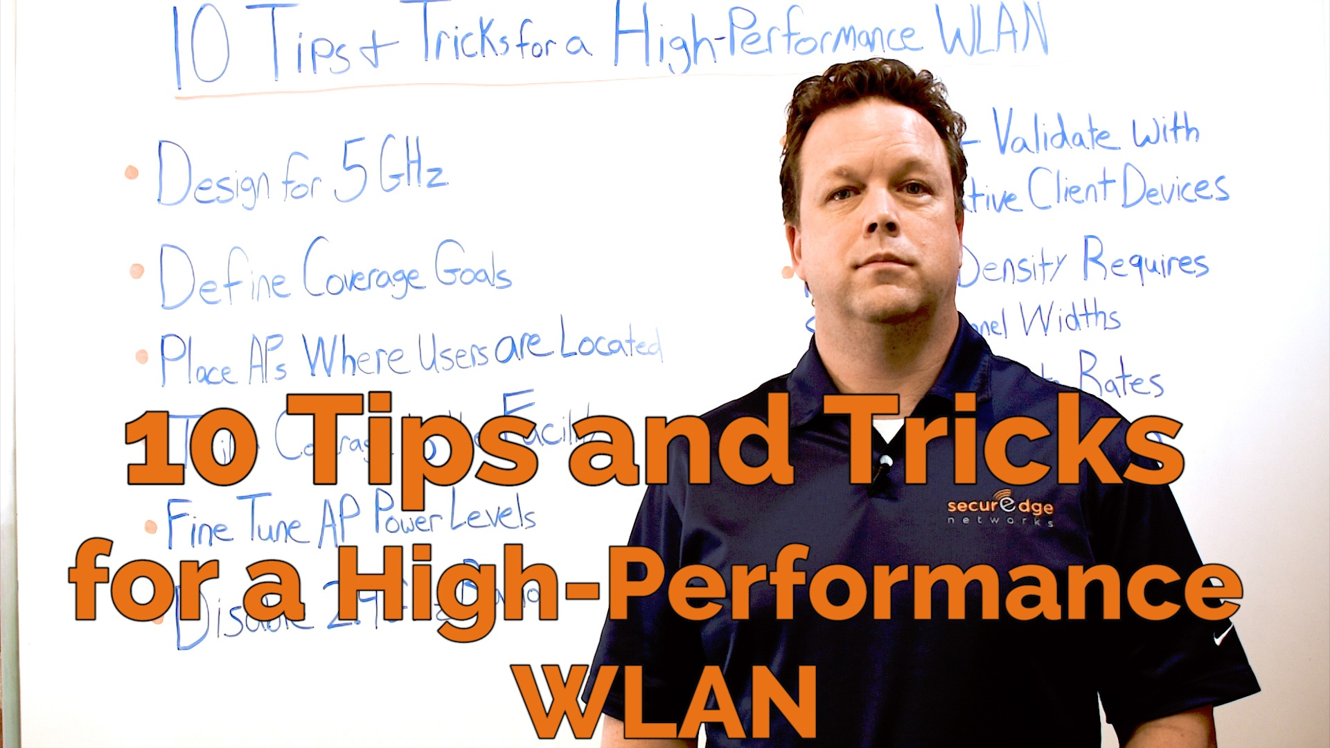 Wireless Network Design: 10 Tips and Tricks for a High-Performance WLAN
