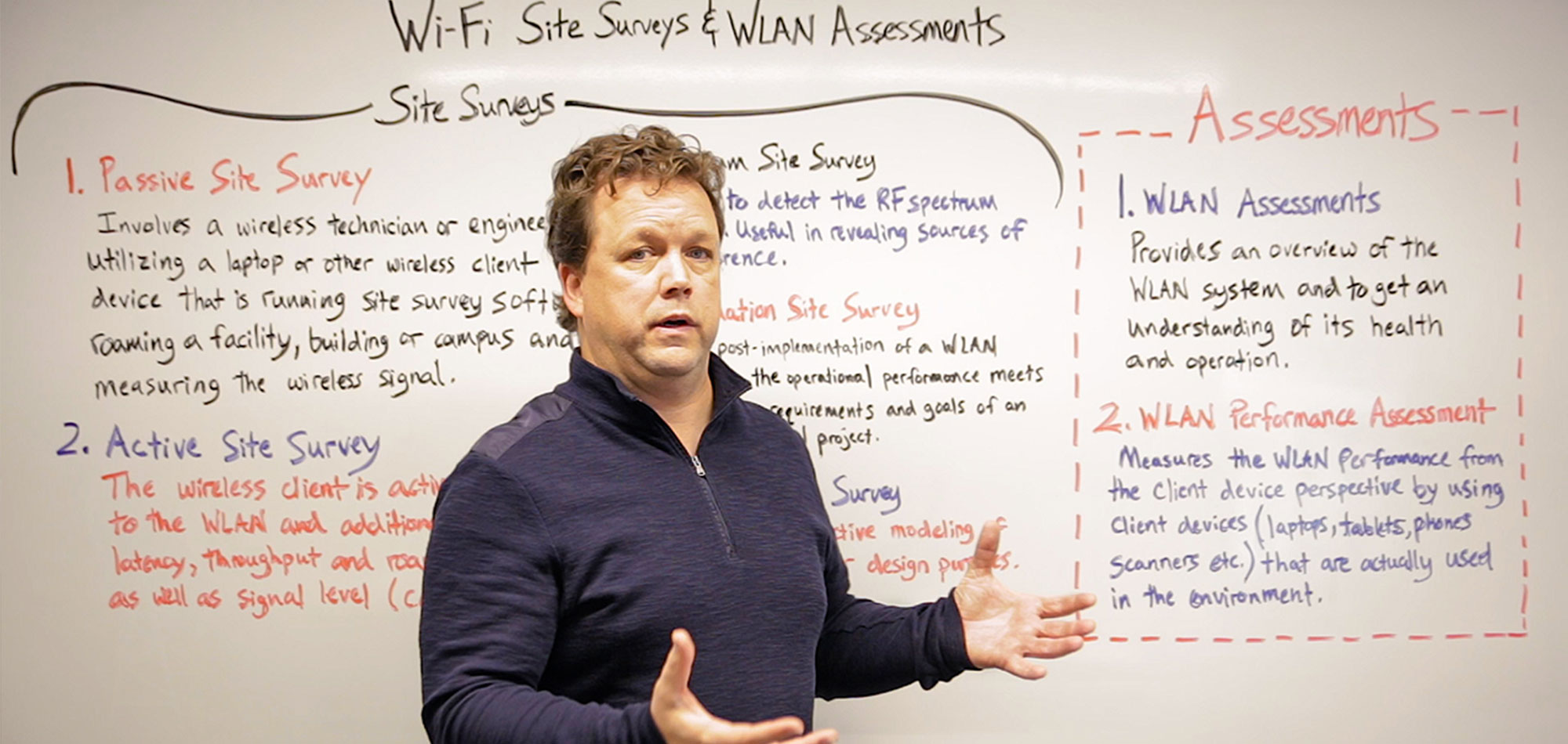 Whiteboard Wednesday: Wi-Fi Site Surveys & WLAN Assessments [Video]